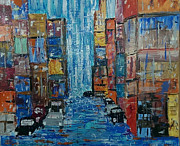 Judi Goodwin - A Rainy Day in the City