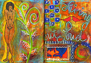Grief Therapy Mixed Media - A Rebirth of Sorts by Angela L Walker