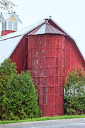 Wayne Stabnaw - A Red Wood Silo