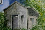Shed Paintings - A Relic by Penny Stroening