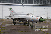 A Russian Mig-21smt Fighter Plane Print by Timm Ziegenthaler