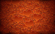 Sea Art - A Sea of Hearts by Sanely Great