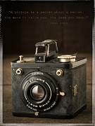 Vintage Camera Posters - A Secret About a Secret Poster by Edward Fielding