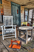 Abandoned North Carolina Home Metal Prints - A Simpler Time I - Rural North Carolina Metal Print by Dan Carmichael
