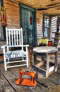 Shed Acrylic Prints - A Simpler Time II - Rural North Carolina Acrylic Print by Dan Carmichael