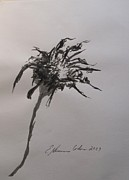 Thorn Paintings - A Sole Thorn by Esther Newman-Cohen