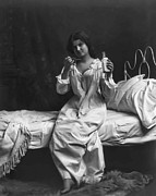 Nightgown Prints - A SPOONFUL of LAUDANUM Print by Daniel Hagerman