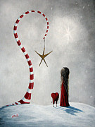 Decor Prints - A Starlit Wish by Shawna Erback Print by Shawna Erback