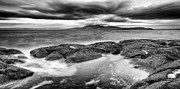 Scotland Fineart Prints - A storm brewing Print by John Farnan