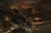 Famous Artists - A Storm off the Normandy Coast by Eugene Isabey