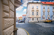 Building Art - A street in Prague by Michal Bednarek