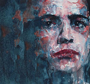 Face  Paintings - A Streetcar Named Desire by Paul Lovering