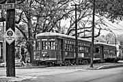 Steve Harrington - A Streetcar Named St. Charles oil bw