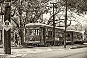 Steve Harrington - A Streetcar Named St. Charles oil sepia