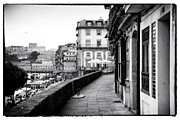 Historic Center Framed Prints - A Stroll in Porto Framed Print by John Rizzuto