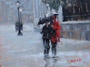 Laura Lee Zanghetti - A Stroll in the Rain