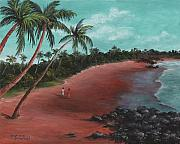 Darice Machel McGuire - A stroll on a tropical...