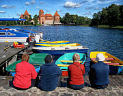 Mary Lee Dereske - A Summer Day at Trakai Castle Lithuania