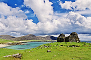 Juergen Klust Metal Prints - A Sunny Day in the Hebrides Metal Print by Juergen Klust