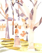 Brigadoon Prints - A Sunny Winters Day Print by Kip DeVore