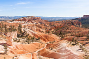 Camping Photos - A Sweeping Vista at Bryce Canyon  by John Bailey