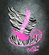 Mad Hatter Originals - A Tale of Three Magic Hats 2 - Pink by Oddball Art Co by Lizzy Love