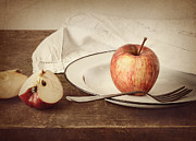 Table Cloth Posters - A Taste of Autumn Poster by Amy Weiss