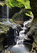 Water Falls Photos - A Thing of Beauty by Robert Harmon