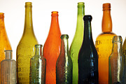 Wine Bottle Prints - A Thirst for Timelessness Print by Holly Kempe