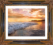 Sea View Digital Art Framed Prints - A Time of Comfort Framed Print by Betsy A Cutler East Coast Barrier Islands