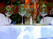 Cuisine Photographs Prints - A Time To Dine In New Orleans Print by Michael Hoard