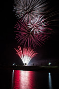 Pyrotechnics Prints - A Time to Reflect Print by Jim McCain