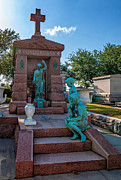 Metairie Cemetery Prints - A Tomb to Die For Print by Steve Harrington