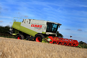Paul Lilley Metal Prints - A Touch Of Claas Metal Print by Paul Lilley