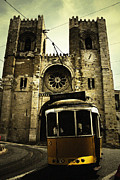 Tram Pyrography Posters - A tram in the cathedral Poster by Fabio Salvo