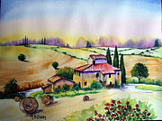 Maria Barry - A Tuscann Farmhouse