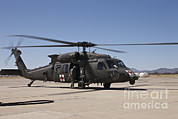 Featured Acrylic Prints - A Uh-60 Blackhawk Helicopter Acrylic Print by Terry Moore