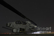 Attack Helicopters Framed Prints - A U.s. Marine Corps Ah-1w Cobra Attack Framed Print by Stocktrek Images