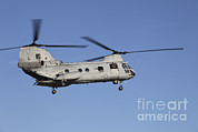 Mid-air Prints - A U.s. Marine Corps Ch-53 Sea Stallion Print by Stocktrek Images
