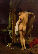 Stefan Kuhn - A venetian bather