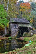 Historic Mill Framed Prints - A Very Old Grist Mill Framed Print by Paul Ward