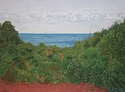 Cape Cod Pastels Framed Prints - A View For Hannah Framed Print by Harvey Rogosin