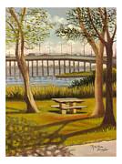 Madeline  Lovallo - A View of Crossbay Bridge