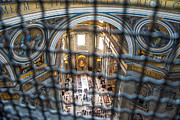Grate Photos - A View of St. Peters Basilica by Christina Klausen