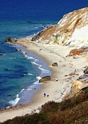 Massachusetts Photos - A Walk Along Aquinnah Beach by Carol Groenen