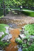 George Taylor - A Walk by a Stream