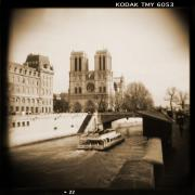 Toy Camera Digital Art Framed Prints - A Walk Through Paris 22 Framed Print by Mike McGlothlen