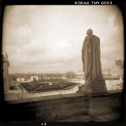 Holga Camera Digital Art Prints - A Walk Through Paris 8 Print by Mike McGlothlen