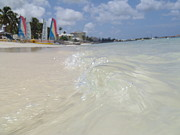 Bahamas Photos - A Waves View by Kimberly Perry