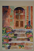 Structure Originals - A Welcoming Door by Gloria Johnson